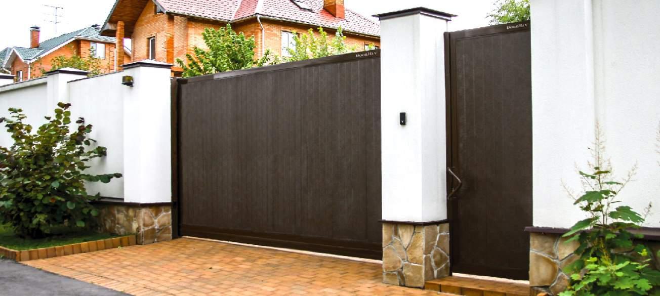 Откатные ворота DoorHan стандартных размеров