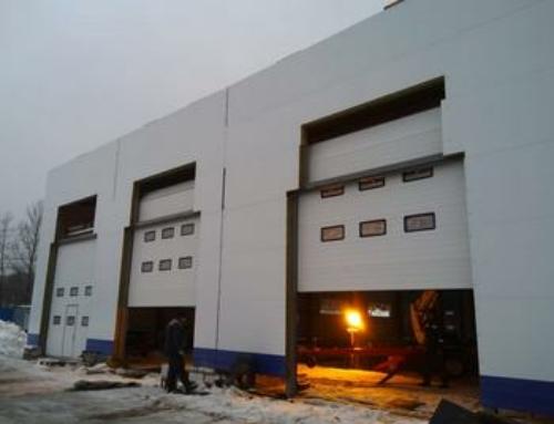 Промышленные ворота для СК Нева