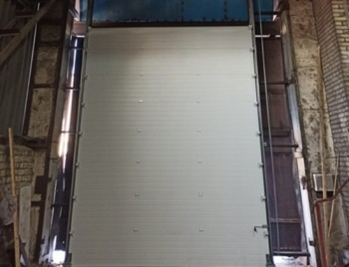 Въездные ворота Doorhan для компании Нумакс