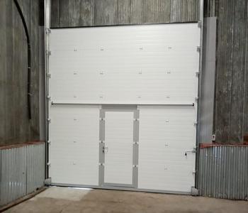 Промышленные ворота для «Нострум Групп»