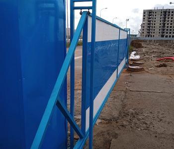 Откатные ворота для «Балтийской Жемчужины»