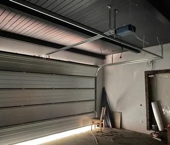 Поставка и монтаж гаражных ворот в Репино