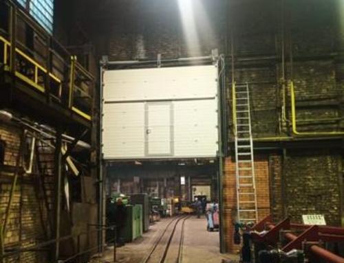 Промышленные ворота для Ижорского Завода